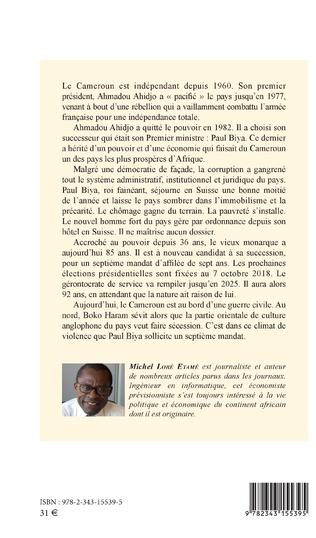 4eme Cameroun Au chevet d'un  régime à l'agonie