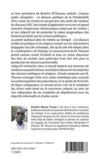 4eme La parole publique dans les médias au Sénégal