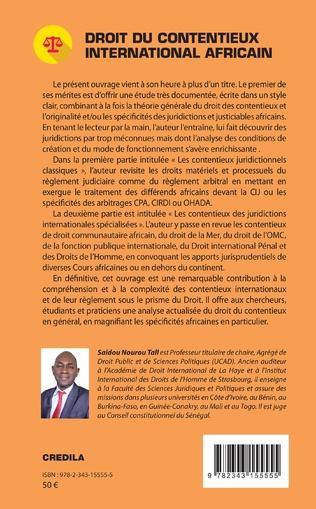 4eme Droit du contentieux international africain
