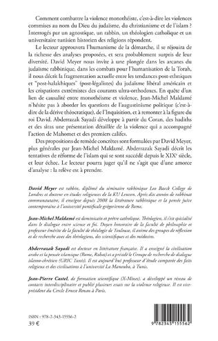 4eme Lutter contre la violence monothéiste