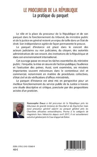 4eme Le procureur de la République