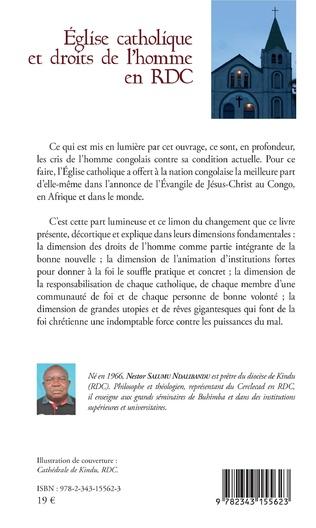 4eme Eglise catholique et droits de l'homme en RDC