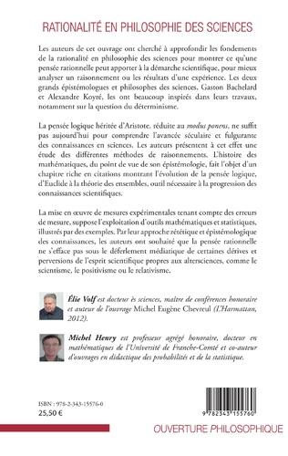 4eme Rationalité en philosophie des sciences