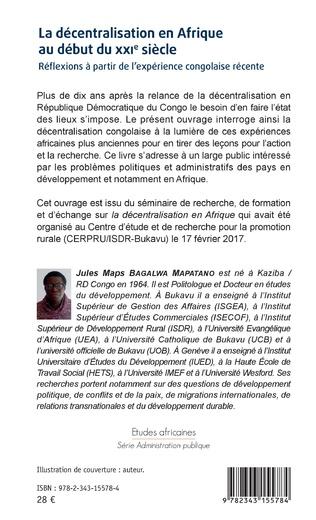 4eme La décentralisation en Afrique au début du XXIe siècle