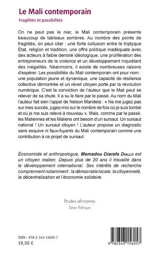 4eme Le Mali contemporain