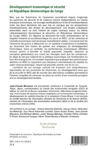 4eme Développement économique et sécurité en République démocratique du Congo