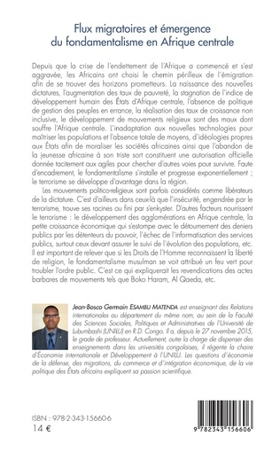 4eme Flux migratoires et émergence du fondamentalisme en Afrique centrale