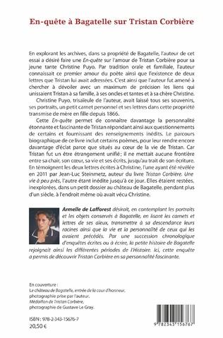 4eme En-quête à Bagatelle sur Tristan Corbière