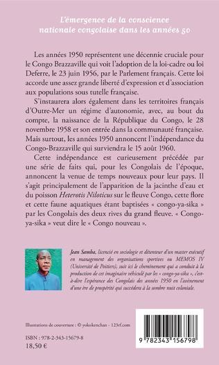4eme l'émergence de la conscience nationale congolaise dans les années 50
