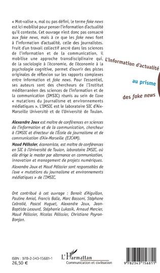 4eme L'information d'actualité au prisme des <em>fake news</em>
