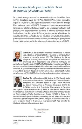 4eme Les nouveautés du plan comptable révisé de l'OHADA (SYSCOHADA révisé)