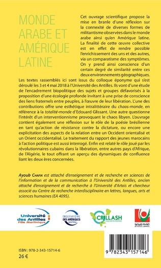 4eme Monde arabe et Amérique latine