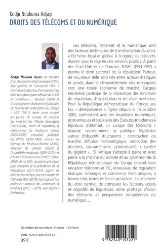 4eme Droits des télécoms et du numérique