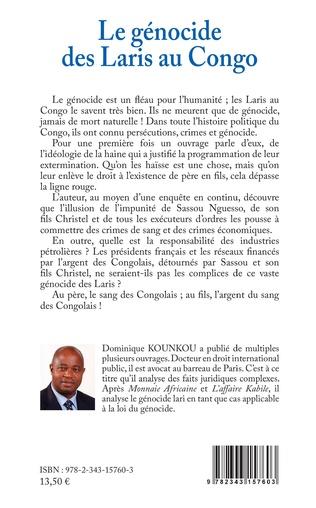 4eme Le génocide des Laris au Congo