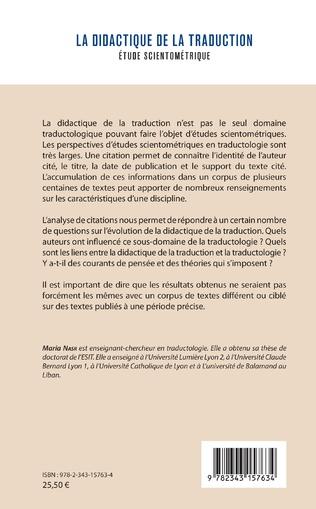 4eme La didactique de la traduction