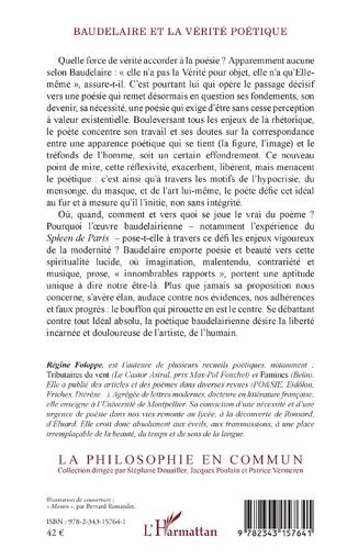 4eme Baudelaire et la vérité poétique