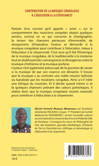 4eme Contribution de la musique congolaise à l'éducation à la citoyenneté