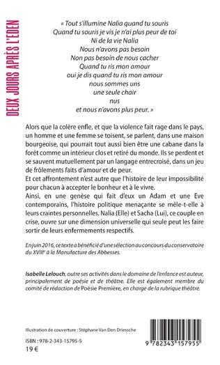 4eme DEUX JOURS APRES L'EDEN