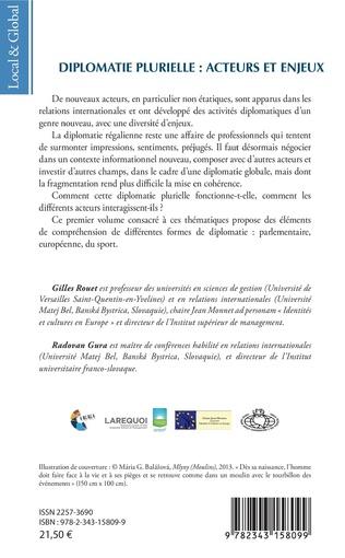 4eme Diplomatie plurielle : acteurs et enjeux