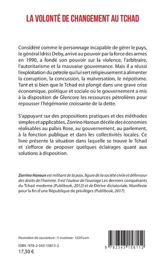 4eme La volonté de changement au Tchad