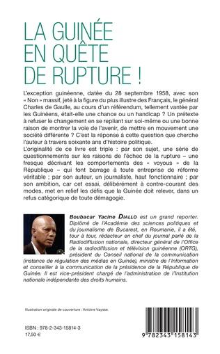 4eme La Guinée en quête de rupture !