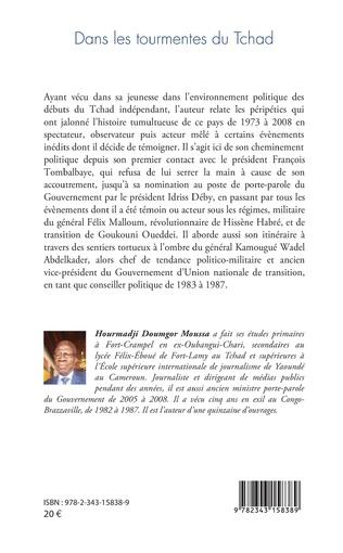4eme Dans les tourmentes du Tchad