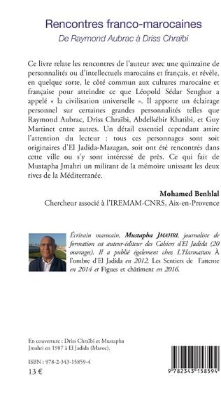 4eme Rencontres franco-marocaines