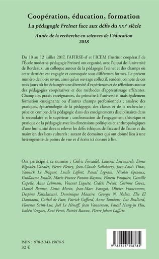 4eme Influences pragmatiques et théoriques de la pédagogie Freinet sur l'analyse des défis à relever par l'Éducation physique d'aujourd'hui