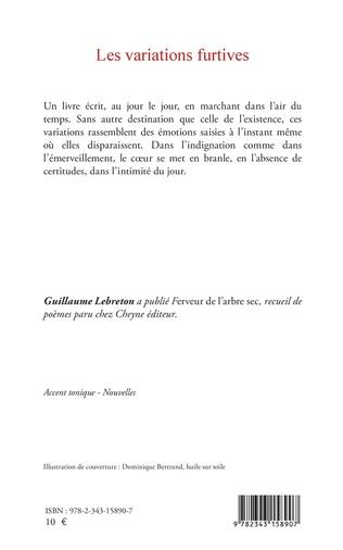 4eme Les VARIATIONS FURTIVES