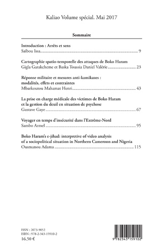 4eme Attaques et attentats de Boko Haram dans l'Extrême-Nord du Cameroun