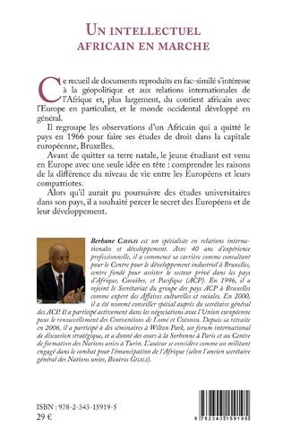4eme Un intellectuel africain en marche