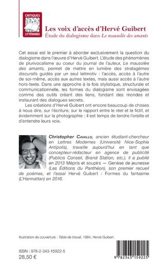 4eme Les voix d'accès d'Hervé Guibert