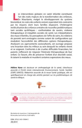 4eme Anthropologie de la santé infantile en Mauritanie