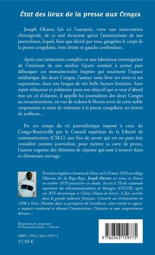 4eme Etat des lieux de la presse aux Congos