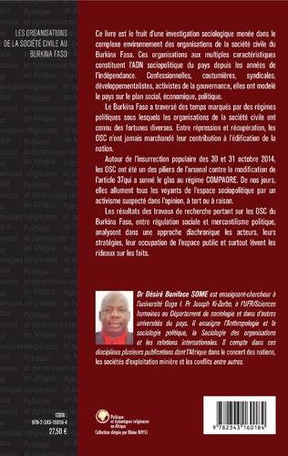 4eme Les organisations de la société civile au Burkina Faso