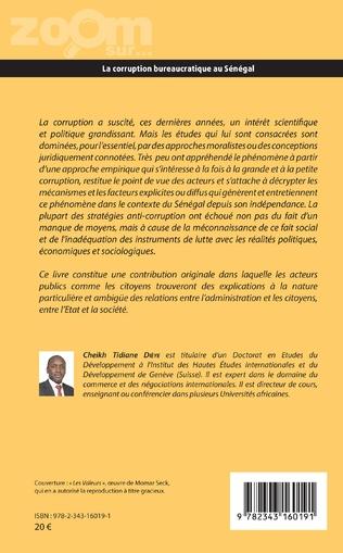 4eme La corruption bureaucratique au Sénégal
