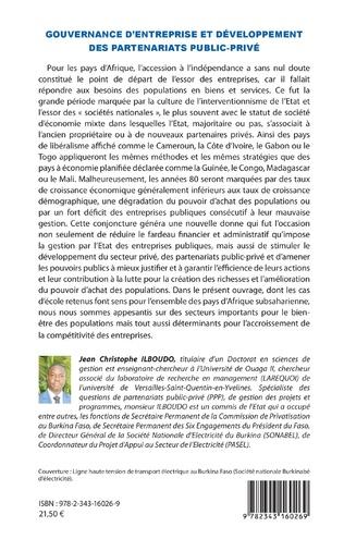 4eme Gouvernance d'entreprise et développement des partenariats public-privé