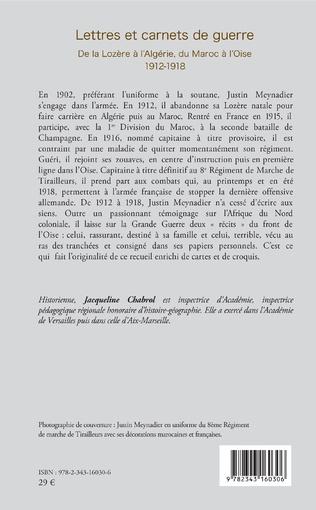 4eme Lettres et carnets de guerre