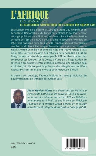 4eme Le basculement géopolitique de l'Afrique des Grands Lacs