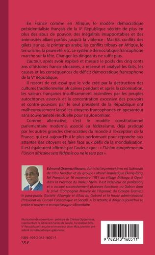 4eme Déficit démocratique et mal- développement en francophonie