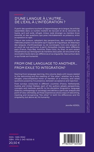 4eme D'une langue à l'autre... De l'exil à l'intégration ?