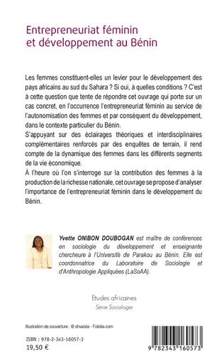 4eme Entrepreneuriat féminin et développement au Bénin