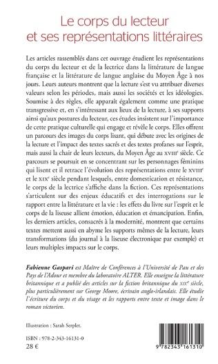 4eme Le corps du lecteur et ses représentations littéraires