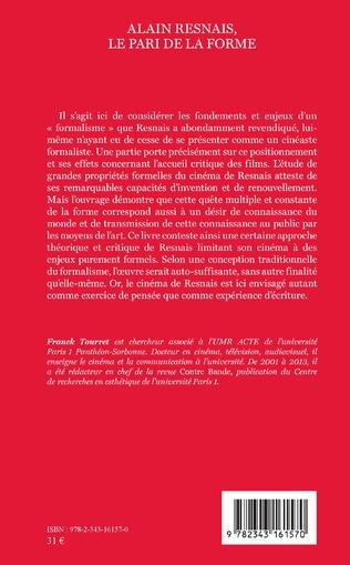 4eme Alain Resnais, le pari de la forme