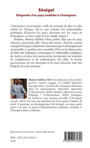 4eme Sénégal. Diagnostic d'un pays candidat à l'émergence