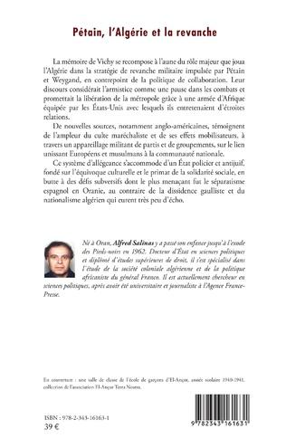 4eme Pétain, l'Algérie et la revanche