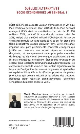 4eme Quelles alternatives socio-économiques au Sénégal ?