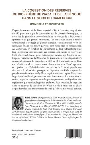 4eme La cogestion des réserves de biosphère de Waza et de la Bénoué dans le Nord du Cameroun