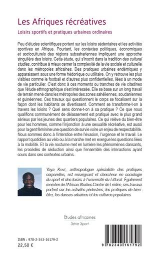 4eme Les Afriques récréatives