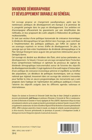 4eme Dividende démographique et développement durable au Sénégal Vol 1